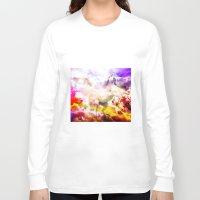 unicorn Long Sleeve T-shirts featuring Unicorn  by haroulita