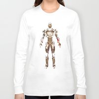 iron man Long Sleeve T-shirts featuring Iron Man  by George Hatzis