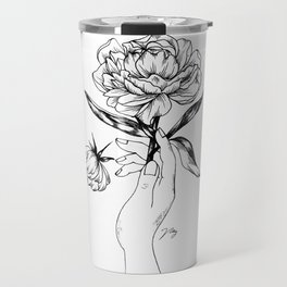 Catching Flowers Travel Mug