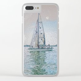 Ship 12-555 Clear iPhone Case