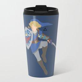 Link(Smash)Blue Travel Mug