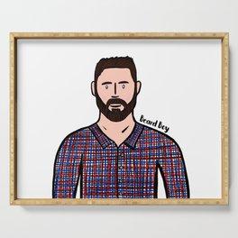 Beard Boy: Jaume Serving Tray