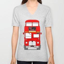 The Routemaster London Bus Unisex V-Neck