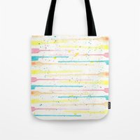 confetti Tote Bags featuring Confetti by Tammy Kushnir