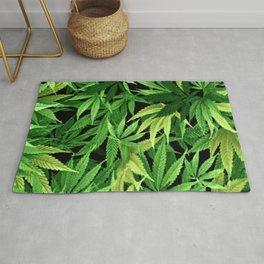 Cannabis Rug