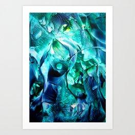 MysticEye Art Print