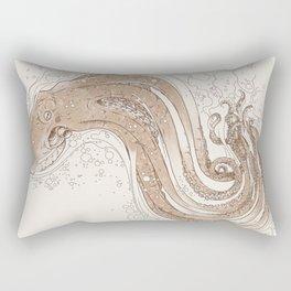 Optical Tentacles Rectangular Pillow