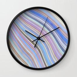 Wild Wavy Lines 25 Wall Clock