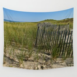 Cape Cod Beach Dunes Wall Tapestry