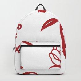 Rose ,Portland,Oregon,city Backpack