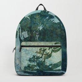 Tinted Texture Buddha I Backpack