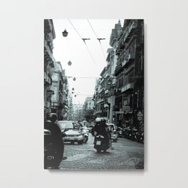 Naples, Spanish Quarter 1 Metal Print