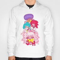 jem Hoodies featuring fanart Jem and the Holograms by Lady Love