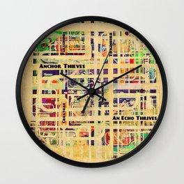 An Echo Thrives Wall Clock