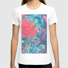Bright and Colourful Marble T-shirt