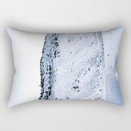 Kerid Crater In Winter, Iceland Rectangular Pillow