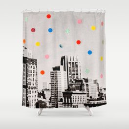 citydots Shower Curtain