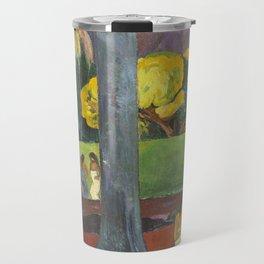 Mata Mua by Paul Gauguin Travel Mug