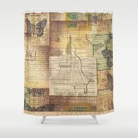 sketch Shower Curtains featuring Sketch by Shenreice
