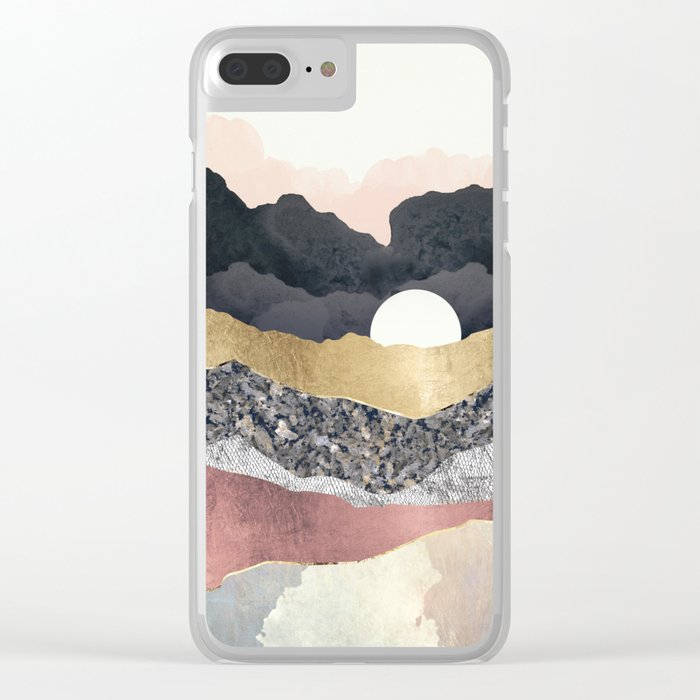 Frost Reflection Clear iPhone Case