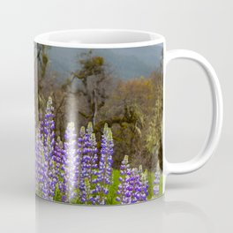 Lupines In The Hills Coffee Mug