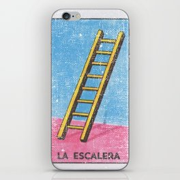 La Escalera Mexican Loteria Bingo Card iPhone Skin