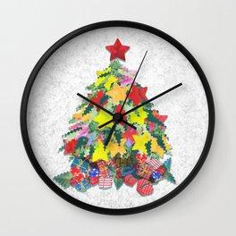 Santa's Work is Done Wall Clock
