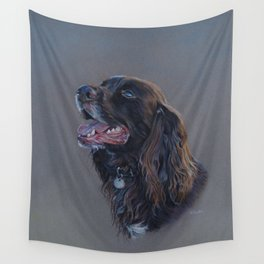 English Cocker Spaniel art print Wall Tapestry