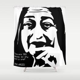 Zaha Hadid Quote Shower Curtain