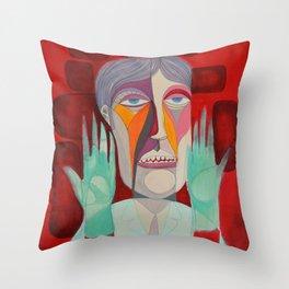 Dr Robert Throw Pillow