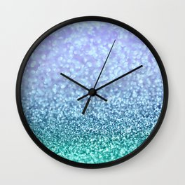 Winter Over Ocean  Wall Clock
