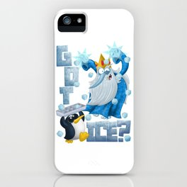 Got Ice? iPhone Case