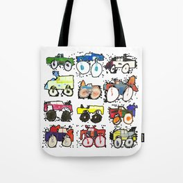 Monster Truck Kid Art by Tucker Tote Bag