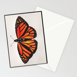 Monarch - Danaus plexippus Stationery Cards