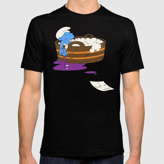 SUICIDAL SMURF  T-shirt