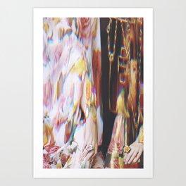 Bazaar #85 Art Print