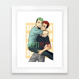 Septiplier Framed Art Print