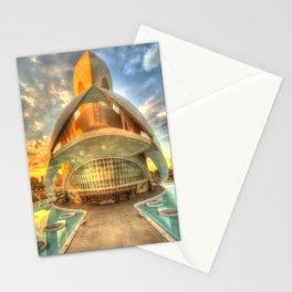 Opera Sunset Stationery Cards