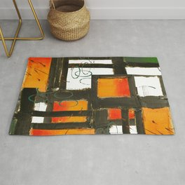 Intensified Component Fabstract Art Rug