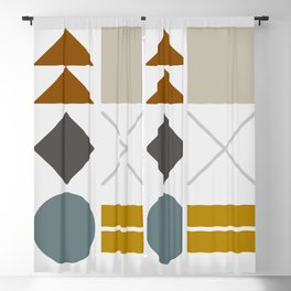 Mid West Geometric 03 Blackout Curtain