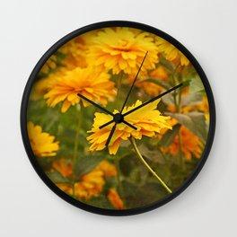 Lean In Wall Clock