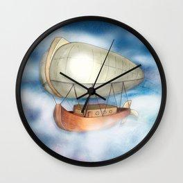 Take to the Sky Wall Clock