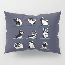 Husky Yoga Pillow Sham