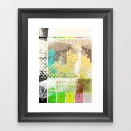 NO RETURN Framed Art Print