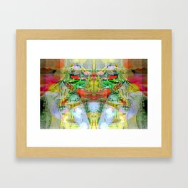 The God of Evil and Vegetables Framed Art Print