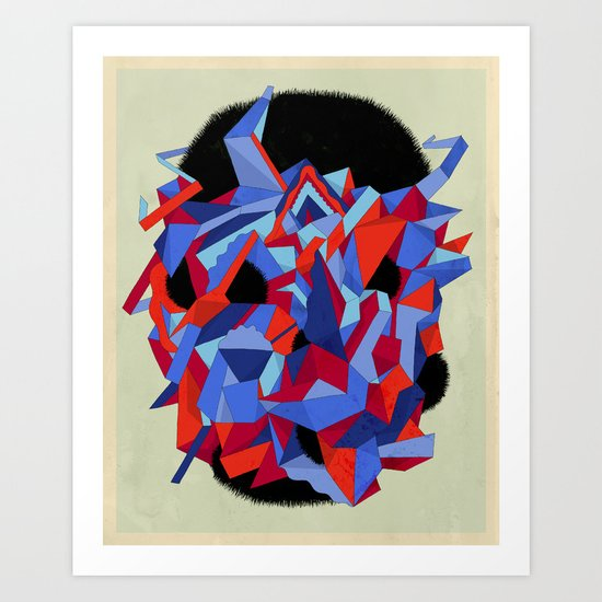 Phrenic Art Print