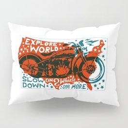 Explore The World Pillow Sham