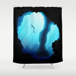 Mer!Haru Shower Curtain