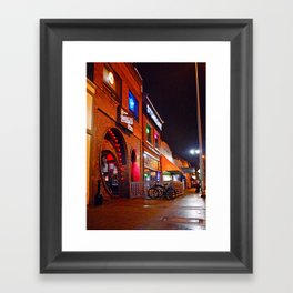 South Tacoma night scene Framed Art Print