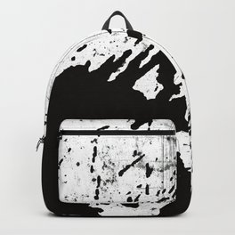 Black and white world Backpack